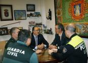 El subdelegado del Gobierno se reuni� con el alcalde de La Roda para tratar diversos temas en materia de seguridad