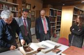 El director general de Cultura de la JCCM visit� el Centro Cervantino de La Roda