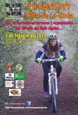 <p>&nbsp;</p>  <p><strong>Se ultiman los preparativos para la VII Carrera BTT &lsquo;Villa de La Roda&rsquo;</strong></p>