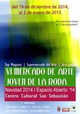 <p>Este viernes se inaugura el VI Mercado de Arte Joven</p>  <p>&nbsp;</p>