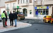 Esta semana finalizan las obras en calle Cervantes