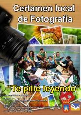 <p>&nbsp;Certamen de fotograf&iacute;a &lsquo;Te pill&eacute; leyendo&rsquo;</p>