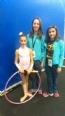 La Roda estuvo presente en el Campeonato de Espa�a de Gimnasia R�tmica - Base Individual