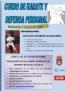 Curso de karate impartido por el presidente de la RFEK , Antonio Moreno