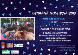 Gymkhana Nocturna @ Pista Muncipal
