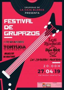Festival de Grupazos . Sábado 27 de Abril. @ Espacio Multifuncional La Caja Blanca