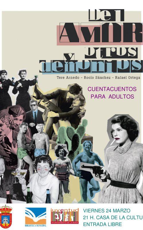 CARTEL Cuentacuetnos Adultos 2017 La Roda-001