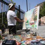 Diez Artistas Participan En El Concurso Nacional De Pintura Rápida 'Fundación Antonio Carrilero'