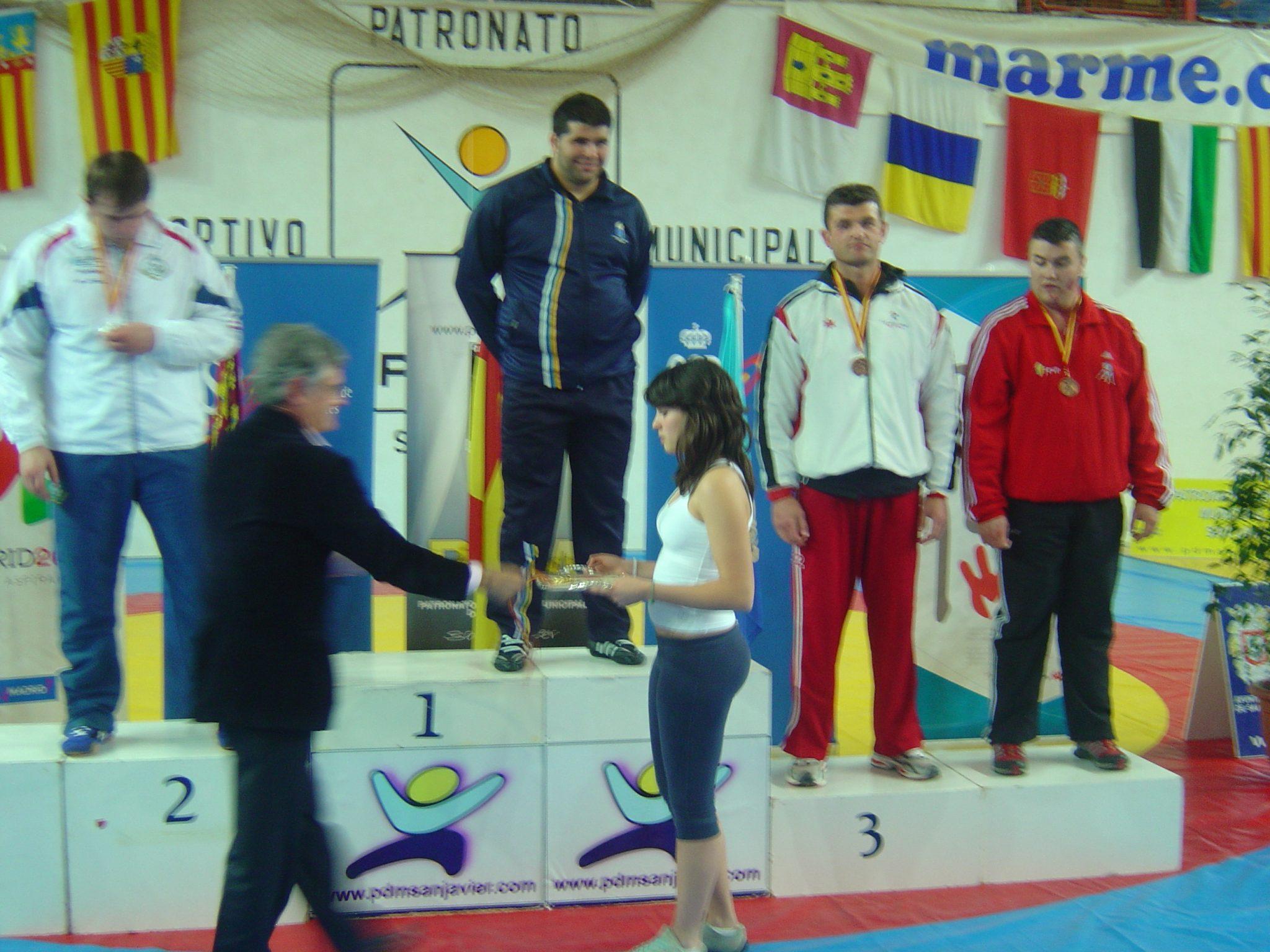 Cpto Spñ Lucha Libre Olímpica