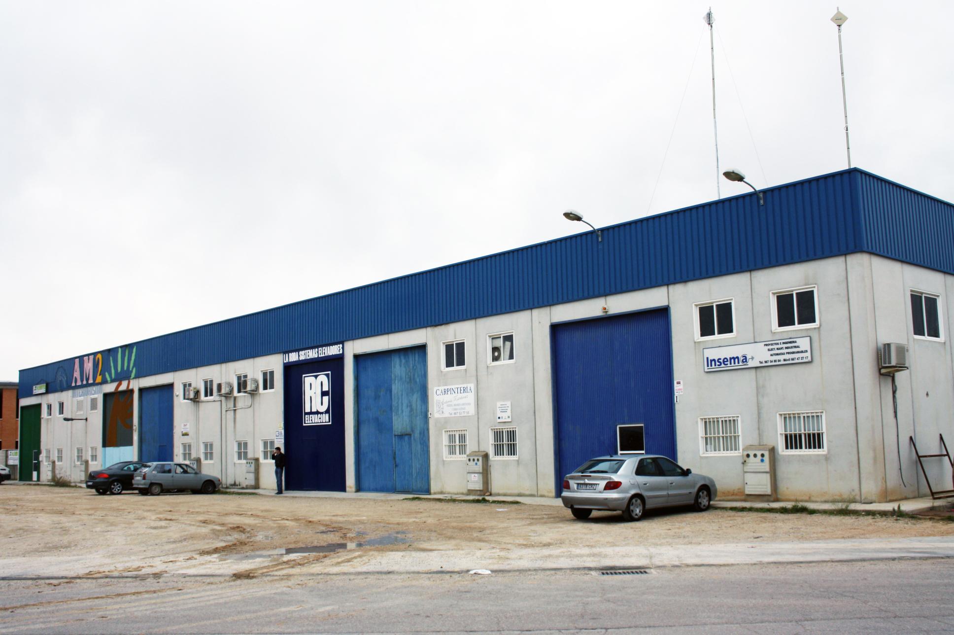 Las Naves Nido Se Ubican En La Primera Fase Del Polígono Industrial El Salvador