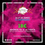 Comienza La Venta De Los Primeros Abonos Del Festival De Los Sentidos 2017