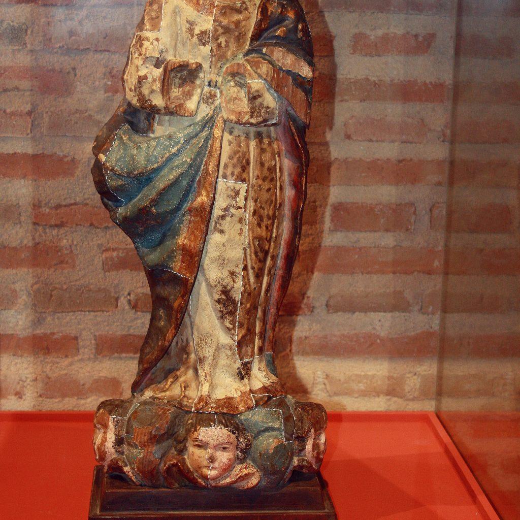 Inmaculada Concepcion.Talla En Madera Y Policromada. Escuela Castellana Siglo XVII
