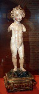 Niño de la Bola. Escultura andaluza SXVII