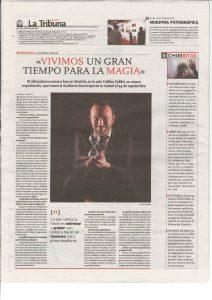 Este nuevo espectáculo fue presentado en la Sala Galileo Galilei de Madrid con un gran éxito de crítica