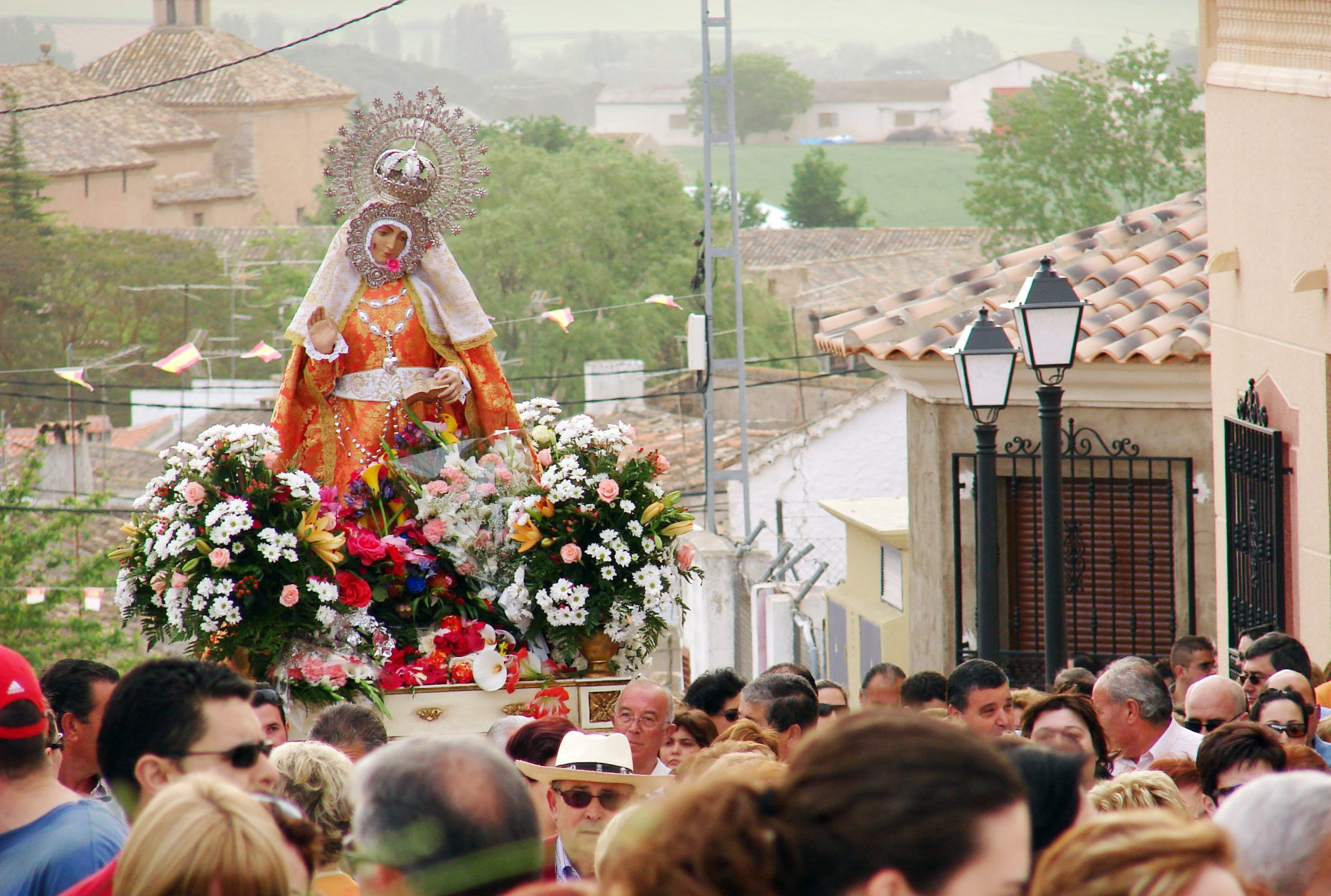Este Viernes, Acto De Petición De La Patrona Por Parte Del Pueblo De La Roda Al De Fuensanta