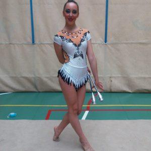 La Rodense Celia Martínez, Campeona Regional En Gimnasia Rítmica Con Mazas