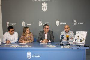 Pedro Toboso, delegado de FEDA en La Roda