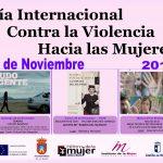 Actividades Para Conmemorar El Día Internacional De La Eliminación De LaViolencia ContralaMujer