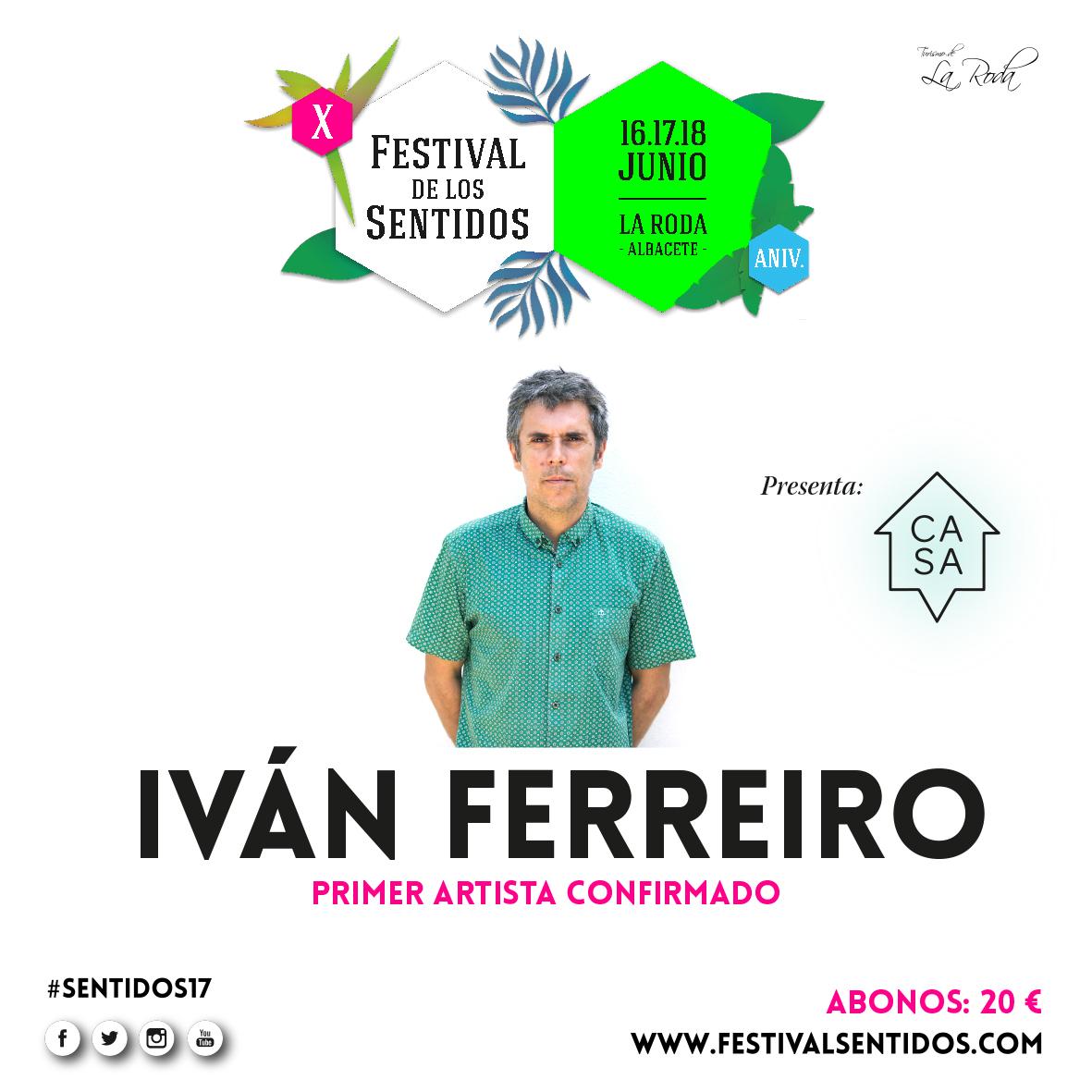 Iván Ferreiro Estará En El Décimo Aniversario Del Festival