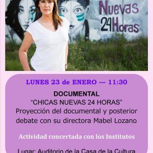 """Mabel Lozano Presenta En La Roda """"Chicas Nuevas 24 Horas"""""""