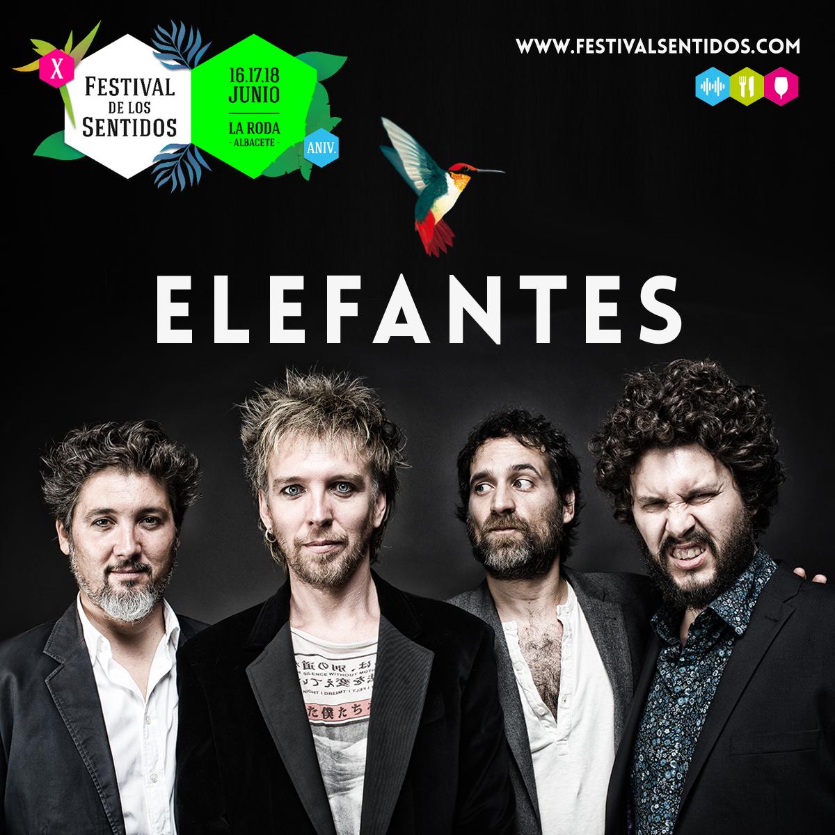 Elefantes Estará En #Sentidos17