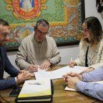 El Ayuntamiento Firma Un Convenio De Seguridad Vial Con Vialine