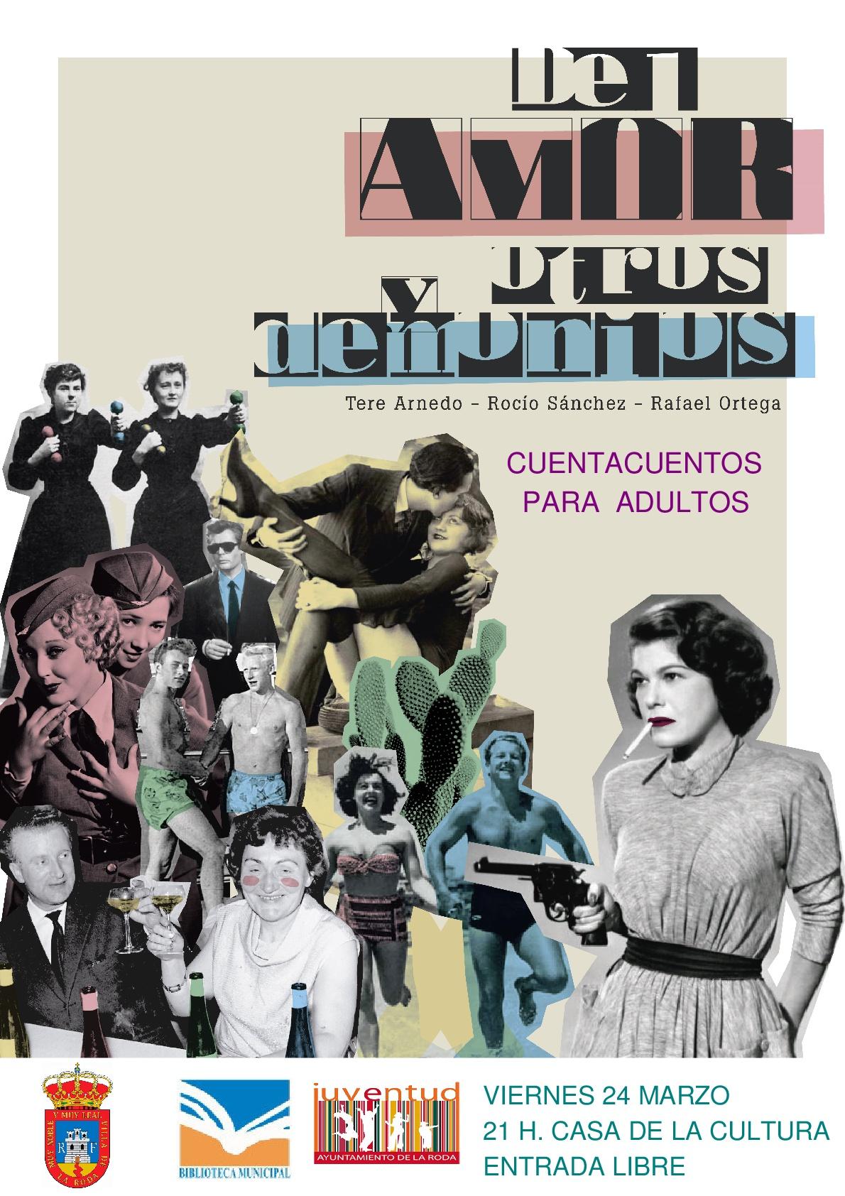 """Cuentacuentos Para Adultos """"Del Amor Y Otros Demonios"""""""