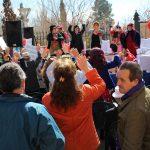El Público Se Volcó Con Una Asistencia Masiva Al Mercadillo De Carnaval