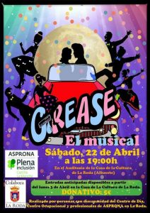 """GREASE- EL MUSICAL"" @ Auditorio Casa de la Cultura"