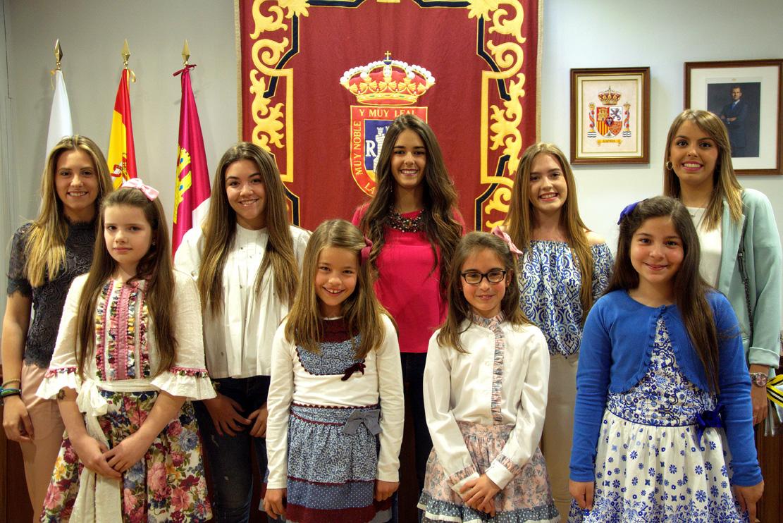 Marifé Carrilero Martínez, Reina De Las Fiestas Mayores De La Roda 2017