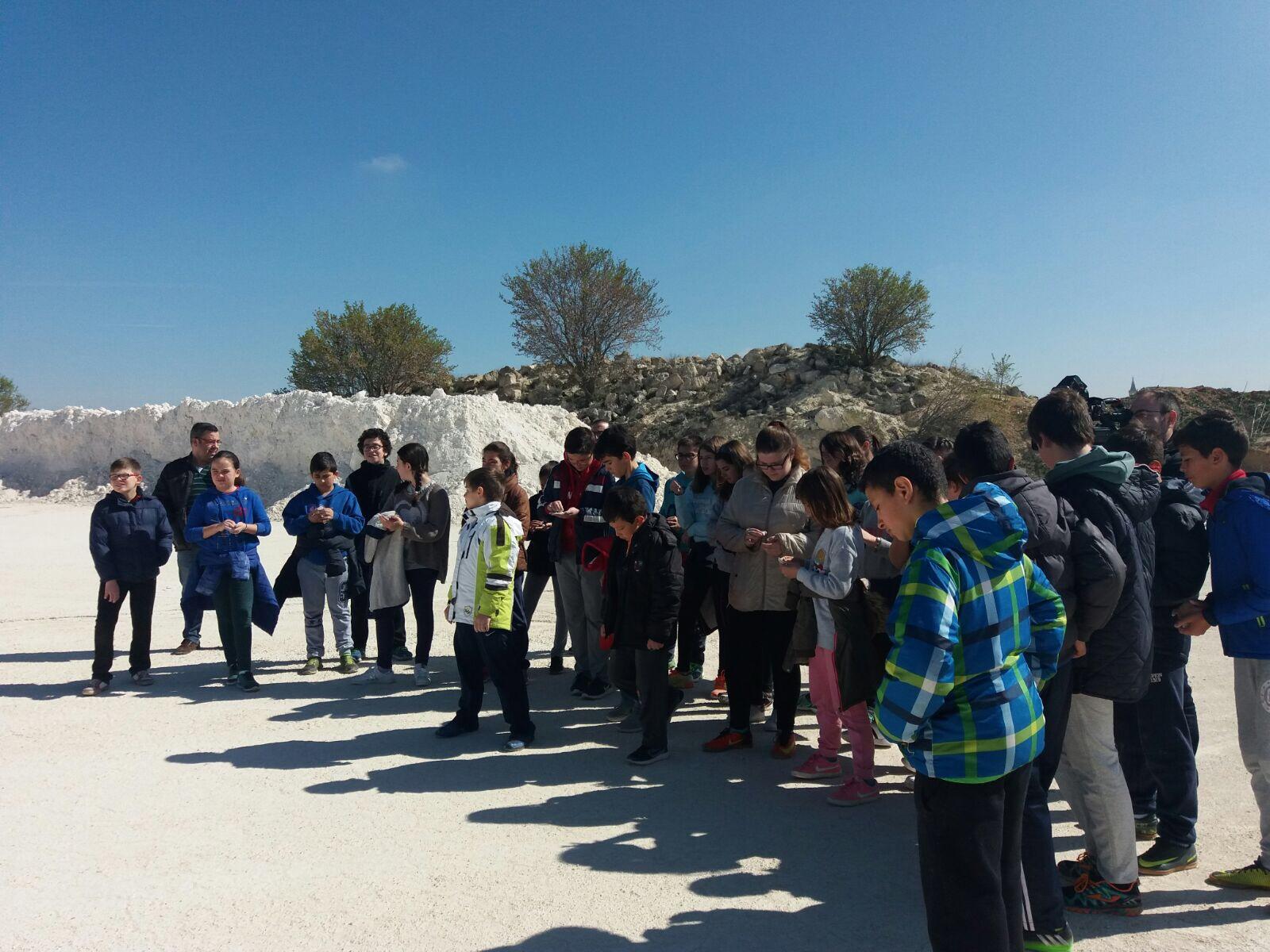 Visita Escolar A Cantera De Tierra Blanca