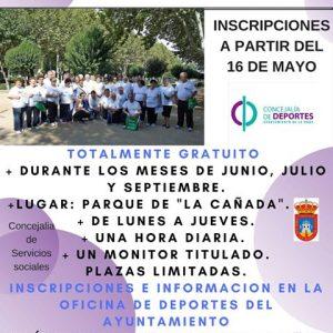 Curso Estival De Gimnasia Saludable Para Mayores