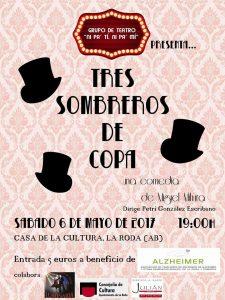 """Teatro: """"Tres Sombreros de Copa"""" @ Casa de la Cultura"""