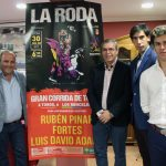 Rubén Pinar, Fortes Y Luis David Adame Torearán En Las Fiestas Mayores De La Roda