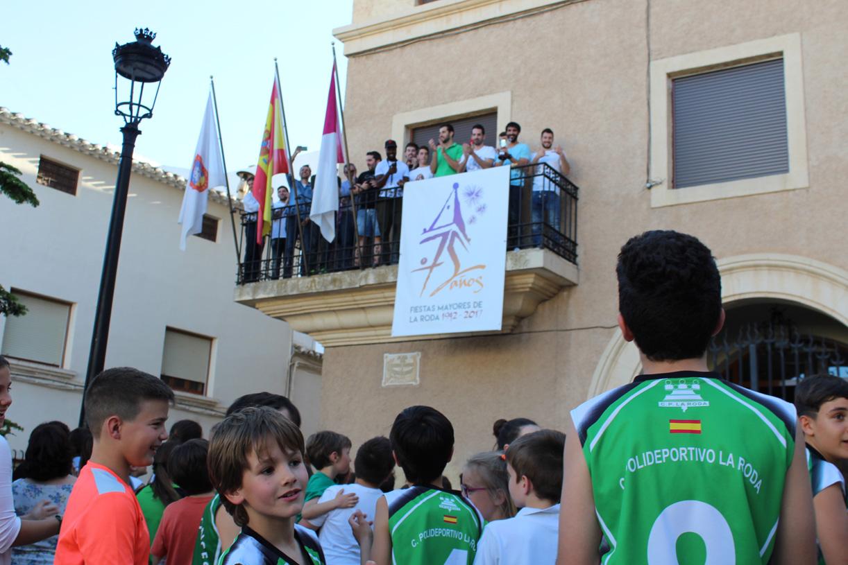 El FGLR Fue Recibido En El Ayuntamiento Tras Su Ascenso A LEB Plata