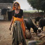 """""""Granjera India"""", Fotografía Premiada En El Certamen Del Centro De La Mujer"""