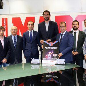 """MARCA Y La FEB Apuestan Por El """"Villa De La Roda"""" Y El Mejor Minibásquet De España Y Europa"""
