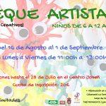 """""""Peque Artistas"""", Talleres Creativos"""
