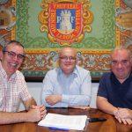 """Visita Institucional Al Taller De Empleo """"El Portazgo VII"""""""