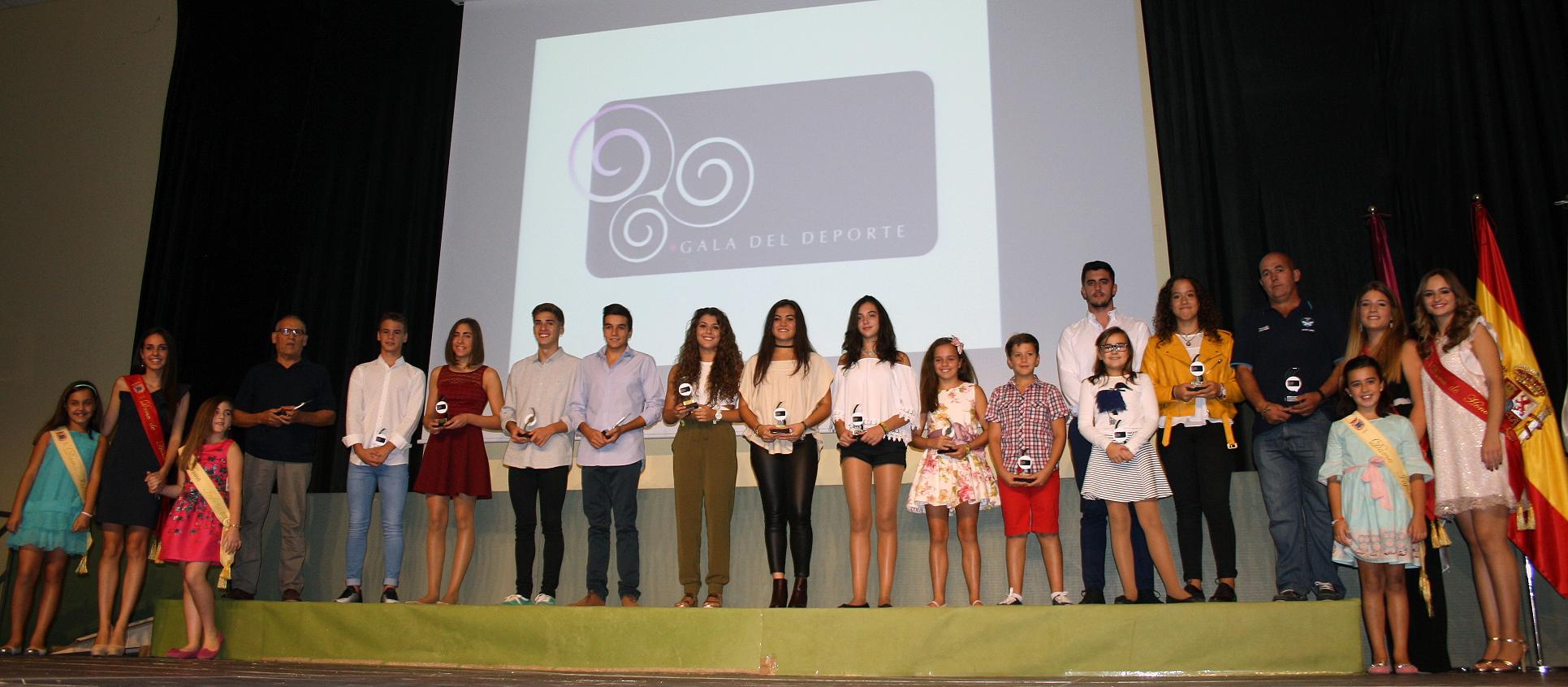 Gala 2016, Natación