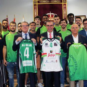 Convenio De Colaboración Entre UCLM, Baloncesto C.P. La Roda Y Ayuntamiento
