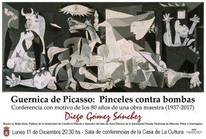 Guernica de Picasso: PINCELES CONTRA BOMBAS (1937 - 2017) @ Sala de Conferencias de la Casa de la Cultura