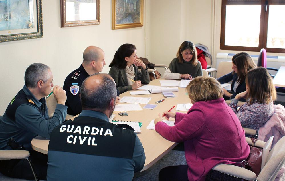 Reunión De Trabajo De La Mesa Técnica De Violencia De Género De La Junta Local De Seguridad
