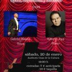 """Gala Lírica  Y """"Òpera En Vaqueros Y Zapatillas"""" Con Gabriel Blanco"""