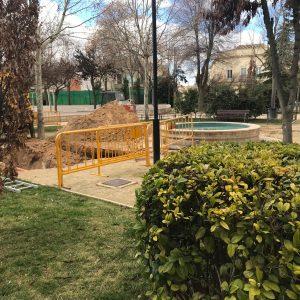 Mejoras En El Sistema De Riego Del Parque Adolfo Suárez