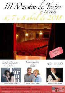 III MUESTRA DE TEATRO LA RODA 2018 @ Auditorio de la Casa de la Cultura