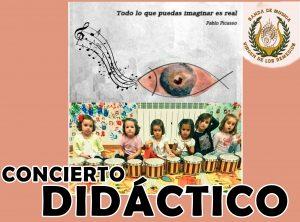 CONCIERTO DIDÁCTICO - BANDA DE MÚSICA VIRGEN DE LOS REMEDIOS @ Auditorio de la Casa de la Cultura