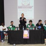 """Charla """"Esfuerzo Como Garantía De éxito"""" Con Jugadores Del FGLR En LEB Plata Y Una Policía Local"""