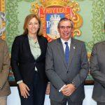 Toma De Contacto De La UCLM Con Empresarios Y Comerciantes Rodenses