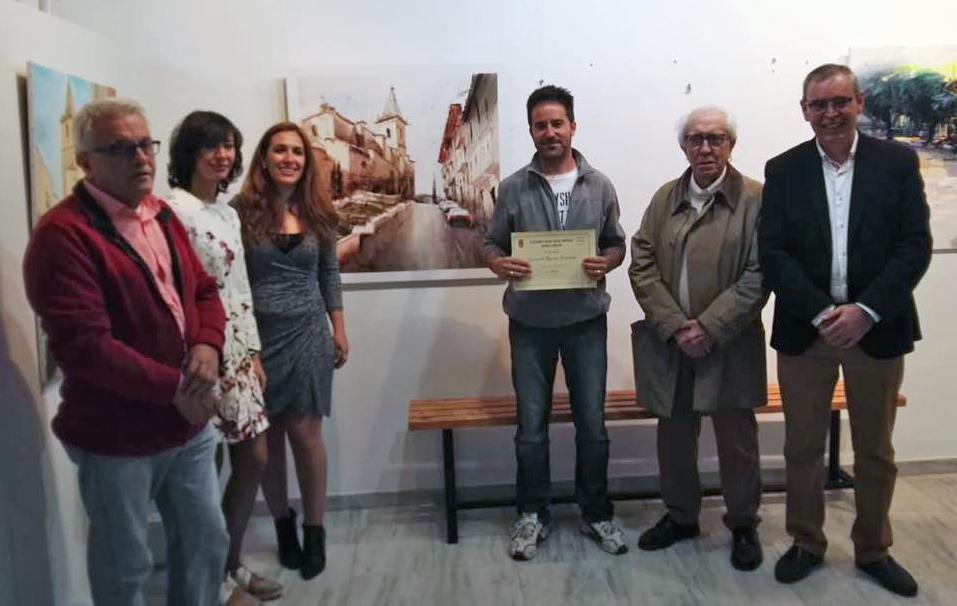 """El Valenciano Gonzalo Romero,  Ganador Del IV Concurso De Pintura Rápida """"Fundación Antonio Carrilero"""""""
